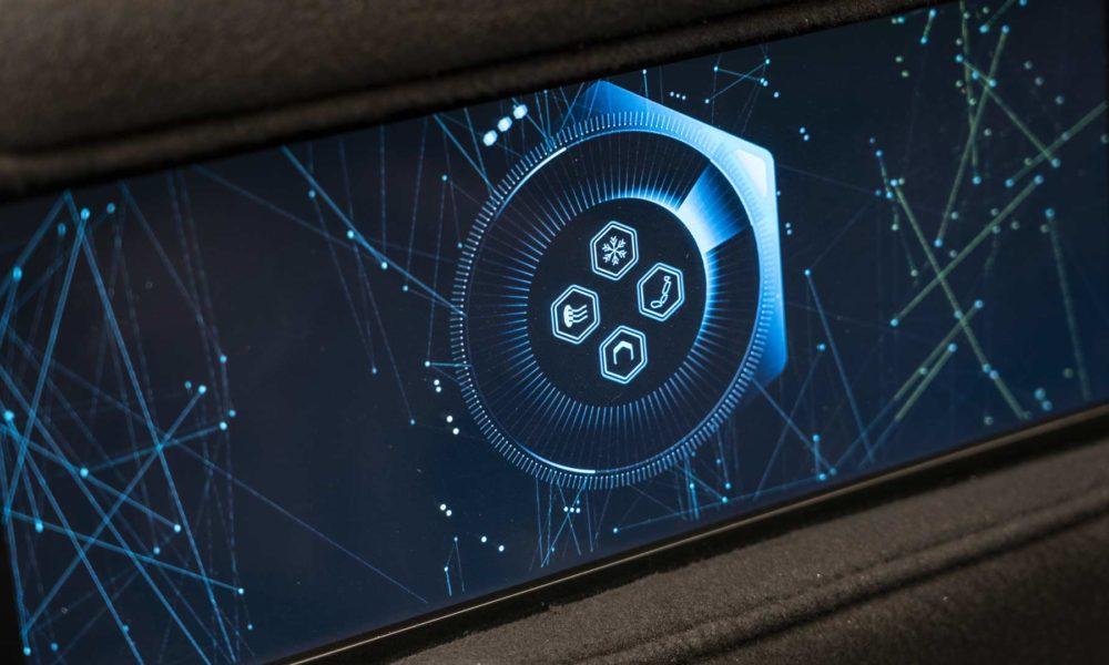 Lagona All Terrain Concept SUV Interior Entertainment Screen