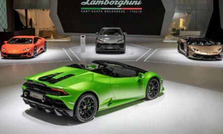 Lamborghini Huracan EVO Spyder Aventador SVJ Roadster Geneva 2019