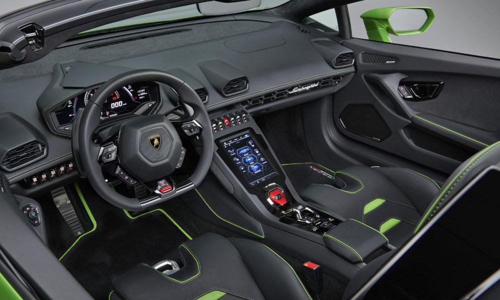 Lamborghini-Huracan-EVO-Spyder-Interior