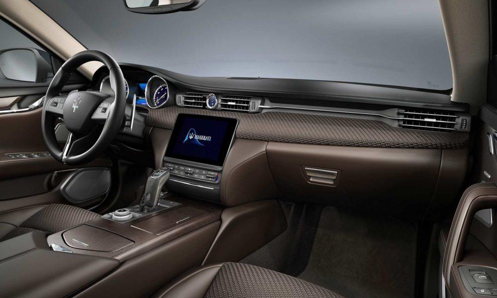 Maserati Levante S Q4 GranSport MY19 Interior customized with Zegna PELLETESSUTA