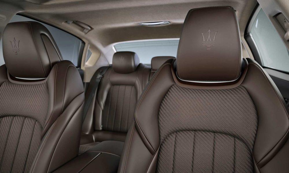 Maserati Levante S Q4 GranSport MY19 Interior customized with Zegna PELLETESSUTA_2