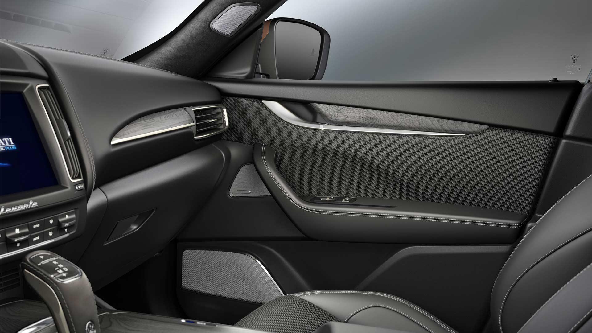 Maserati Levante S Q4 GranSport MY19 Interior customized with Zegna PELLETESSUTA_3