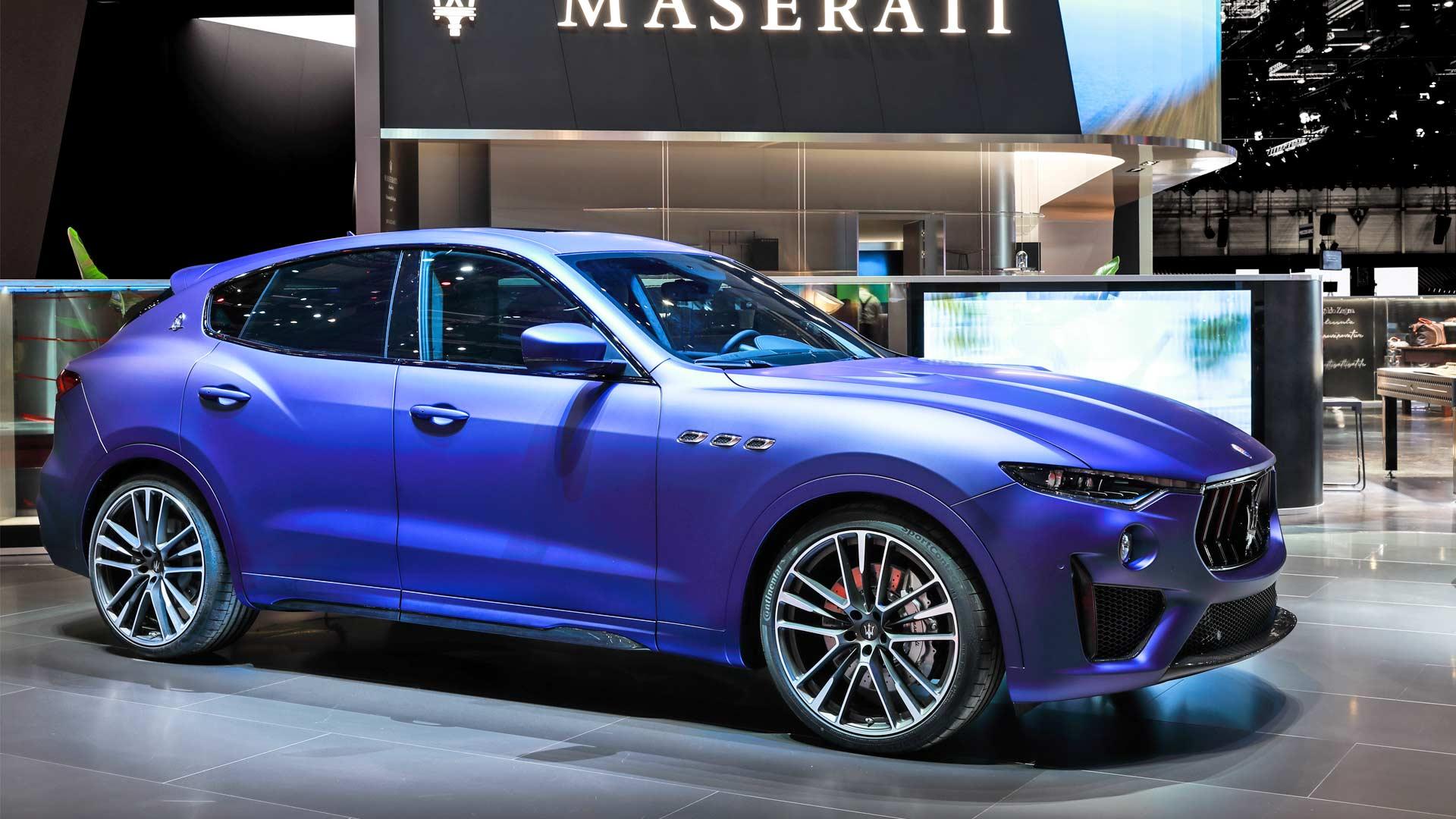Maserati Levante Trofeo Launch Edition