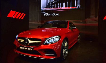 New Mercedes-AMG-C-43-4MATIC-Coupé India launch 2019