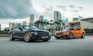 Third generation Bentley Continental GT V8 Coupe and Convertible