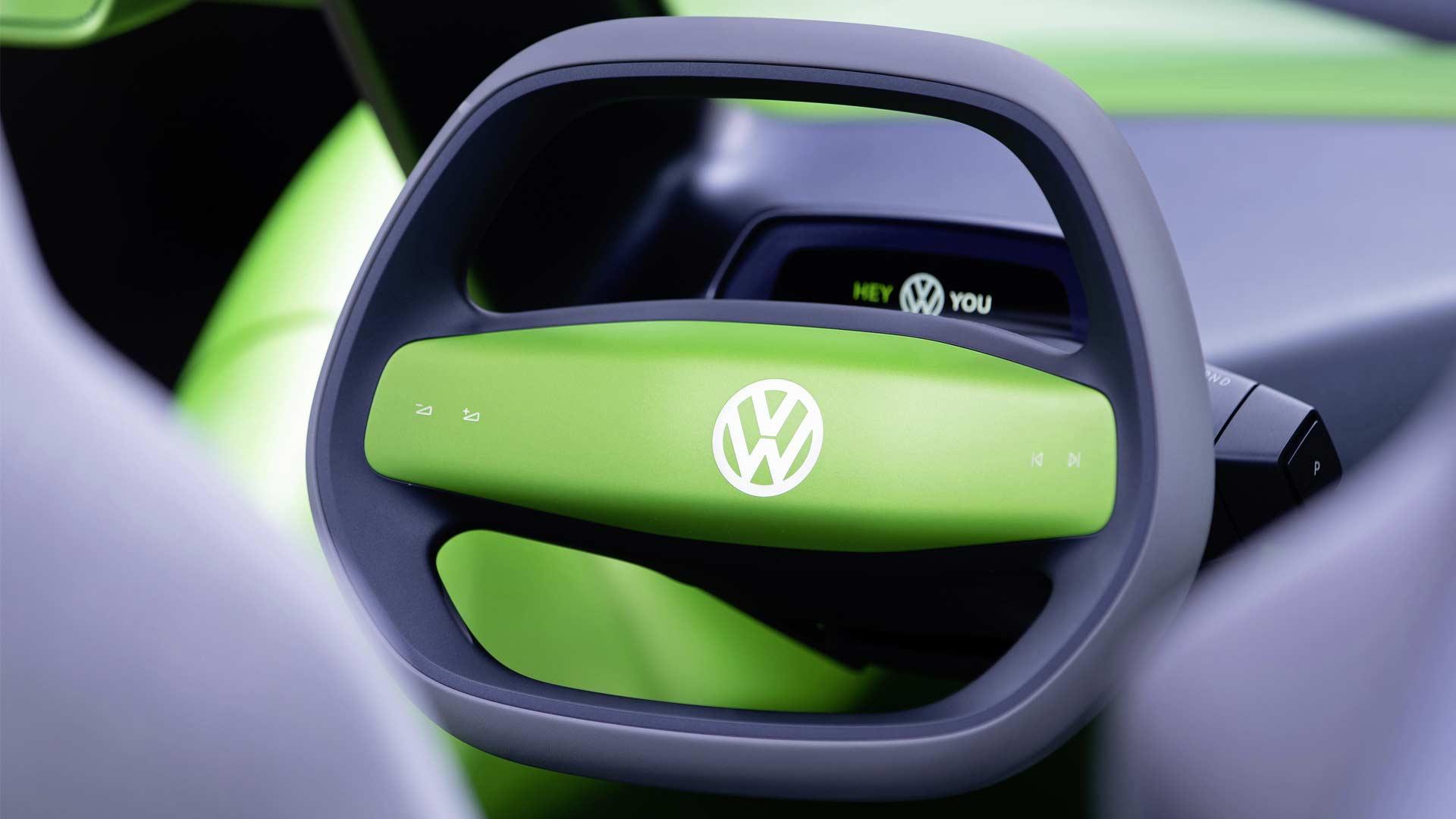 Volkswagen-I.D.-BUGGY-Concept-Interior Steering Wheel
