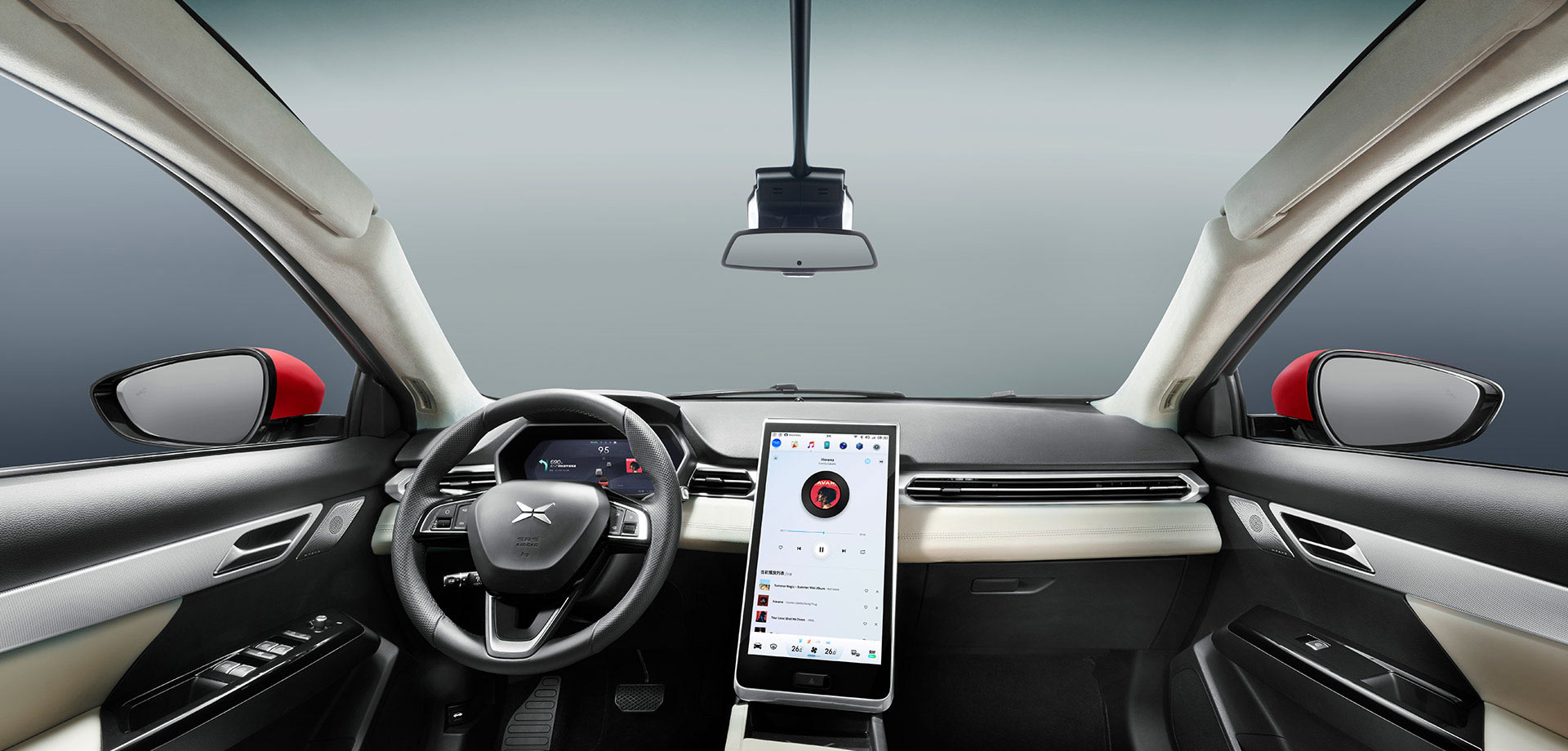 Xpeng-G3-Electric-SUV-Interior