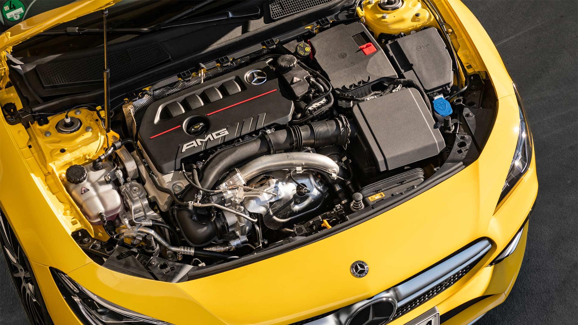 2020-Mercedes-AMG-CLA-35-4Matic-Engine