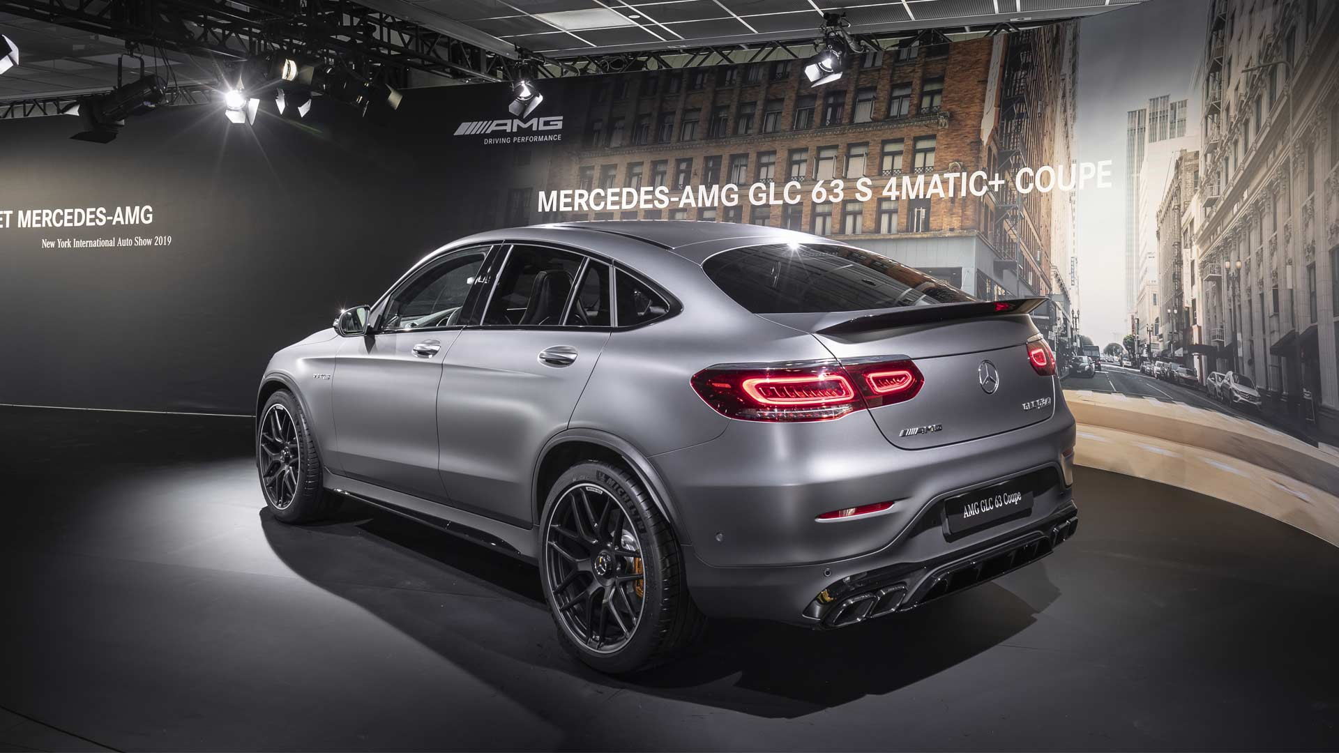 New Mercedes-AMG GLC 63 4Matic+ models debut with fresh ...
