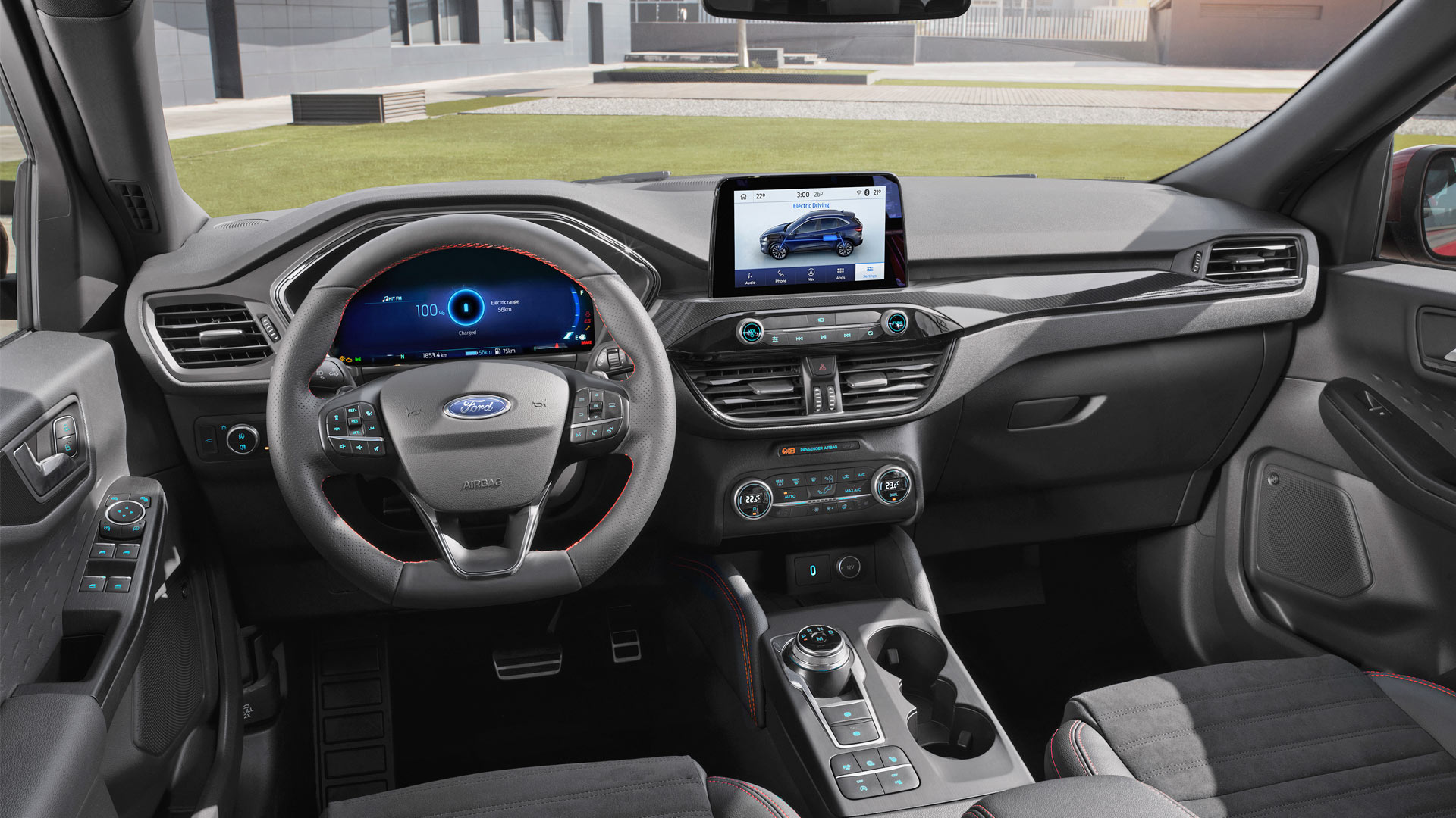 3rd-generation-2020-Ford-Kuga-Interior