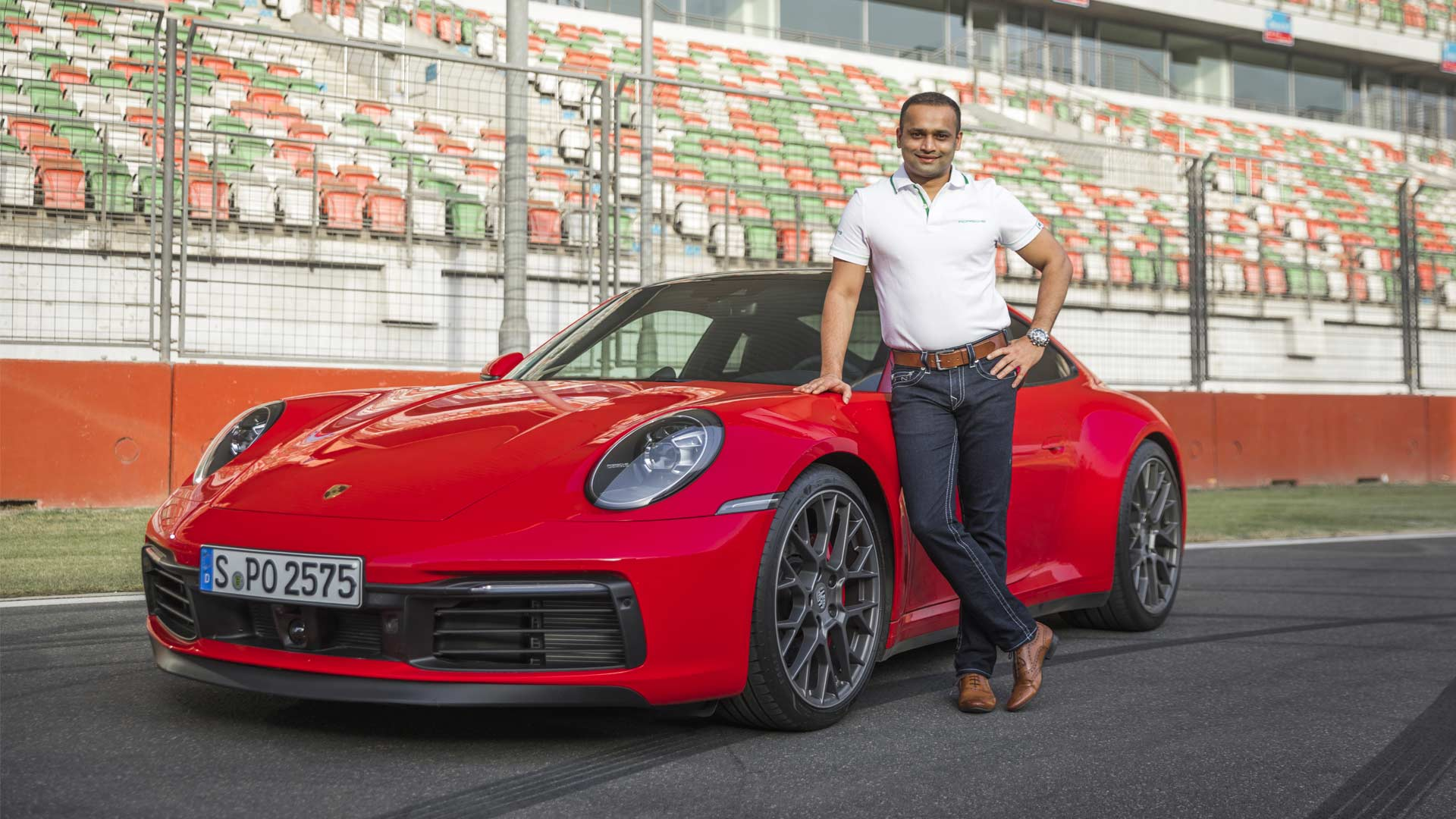 8th-generation-of-the-Porsche-911-India-launch-2019-Buddh-International-Circuit