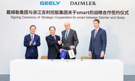 Daimler and Geely Holding 50-50-joint-venture-smart-EV