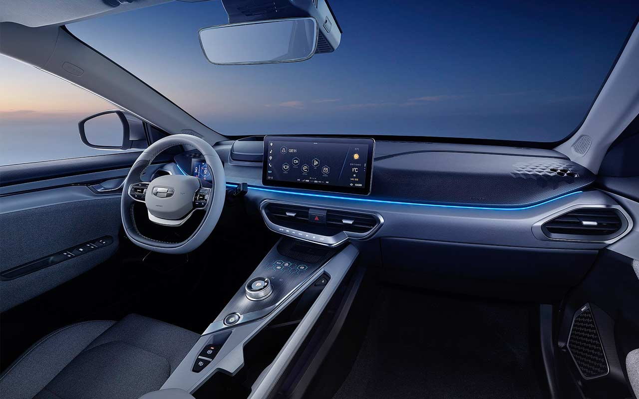 Geely-Geometry-A-Interior-Night