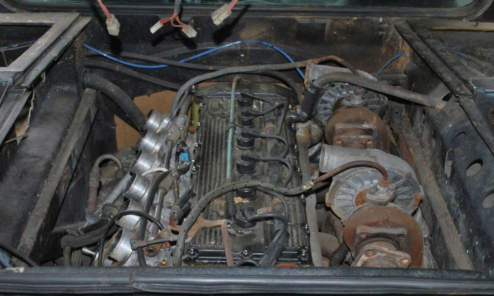 Harald-Ertl-1979 BMW M1 Engine