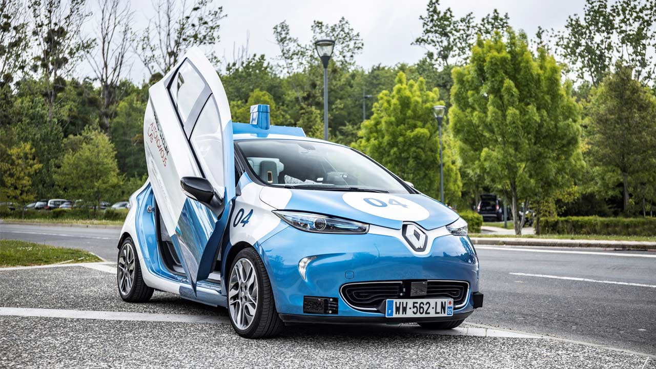 Renault exploring shared mobility services with autonomous