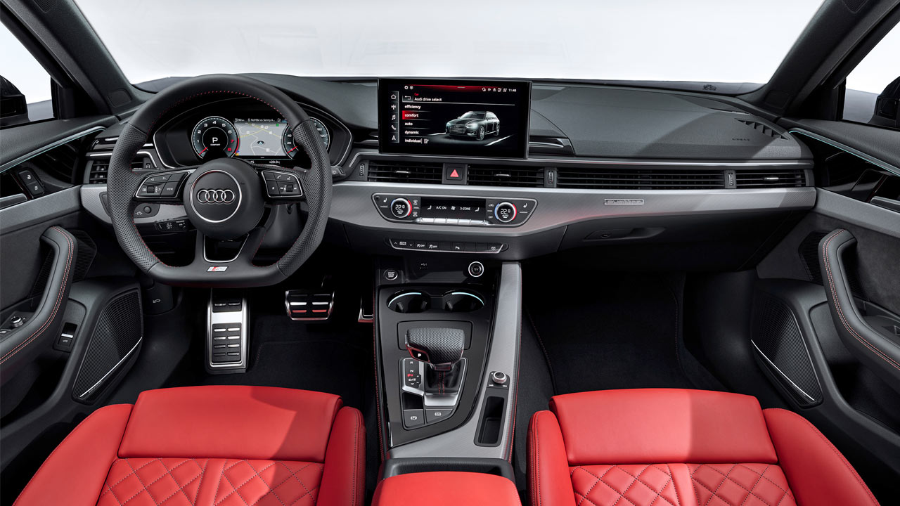 New Audi A4 Debuts With Sharp Looks Mild Electrification