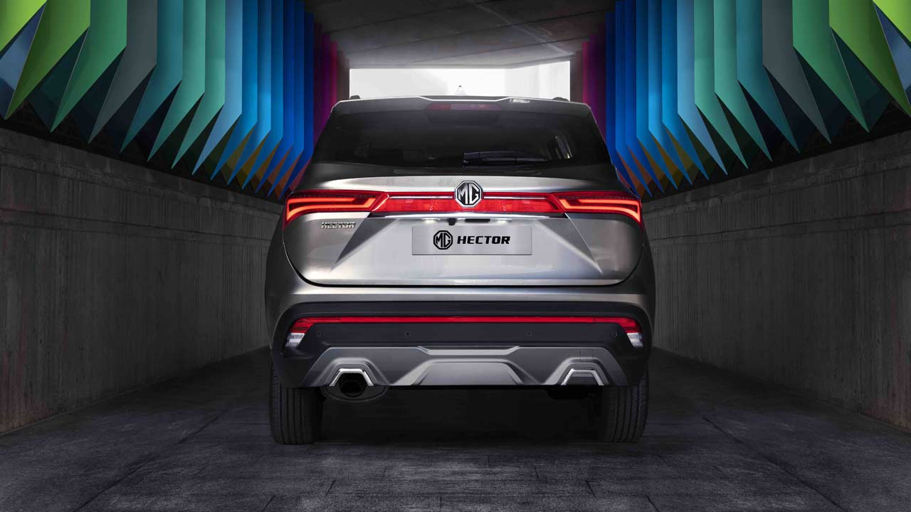 MG Hector officially revealed as India's first internet car