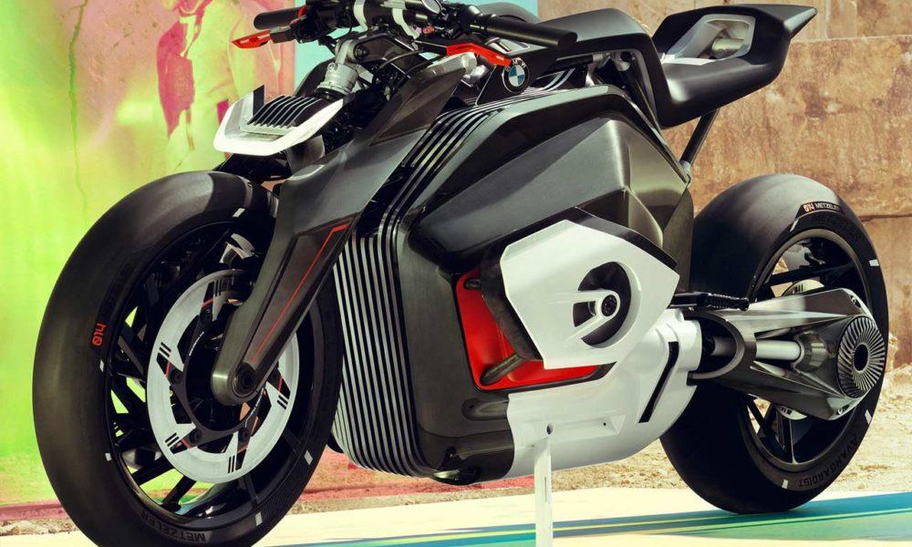 BMW Motorrad Vision DC Roadster, moto elettrica, IAA