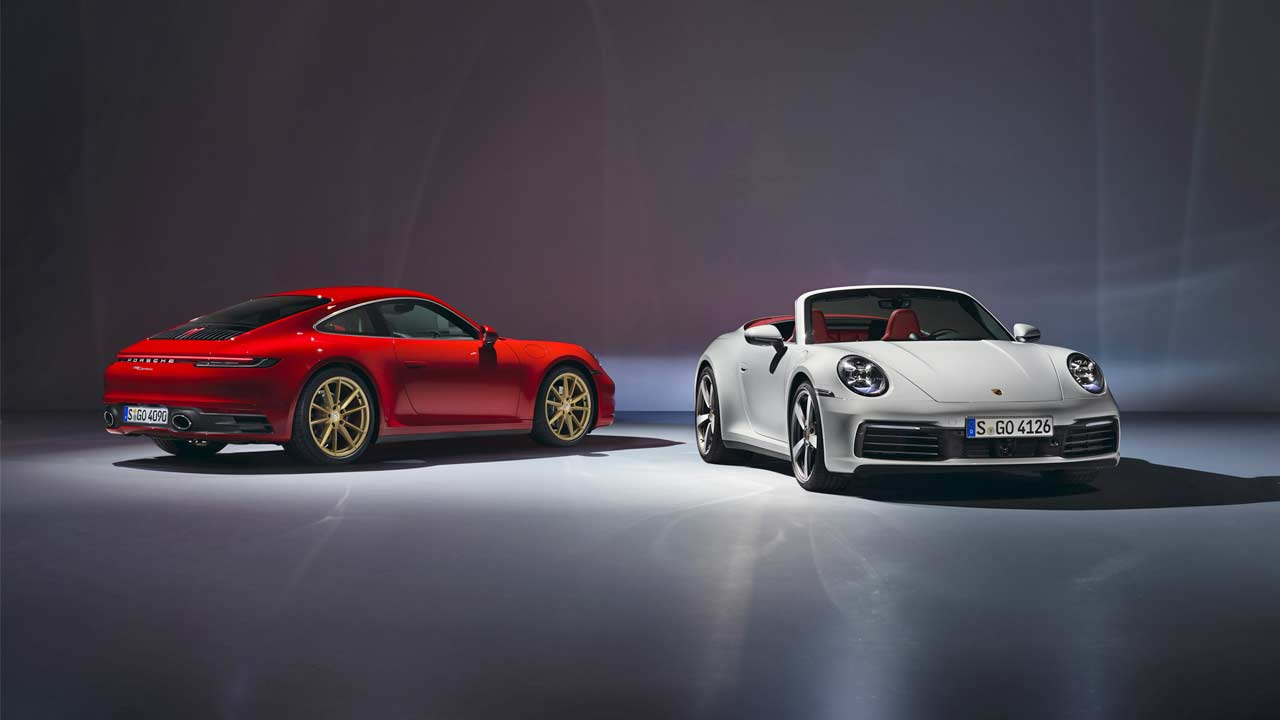 New Porsche 911 Carrera Coupe Cabriolet Join The Lineup As Base Models Autodevot