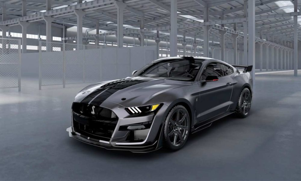A stealthy 2020 Mustang Shelby GT500 will be raffled to ...
