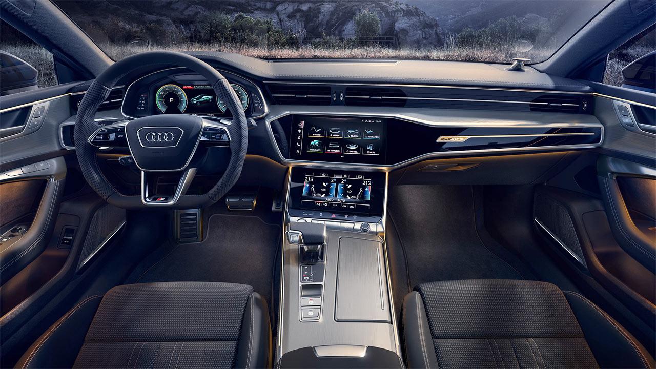 New Audi A7 Sportback 55 Tfsi E Quattro Debuts With 40 Km Ev Range Autodevot