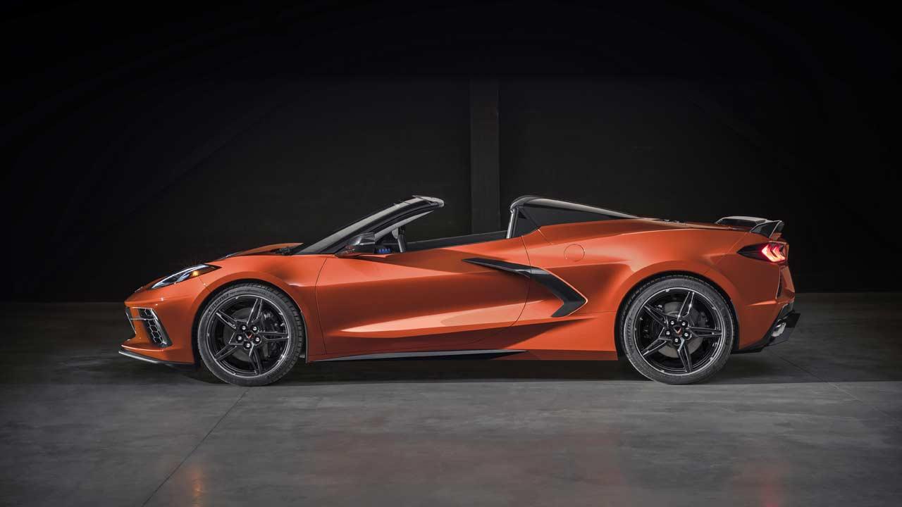 2020 Chevrolet Corvette Stingray gets first-ever hardtop ...