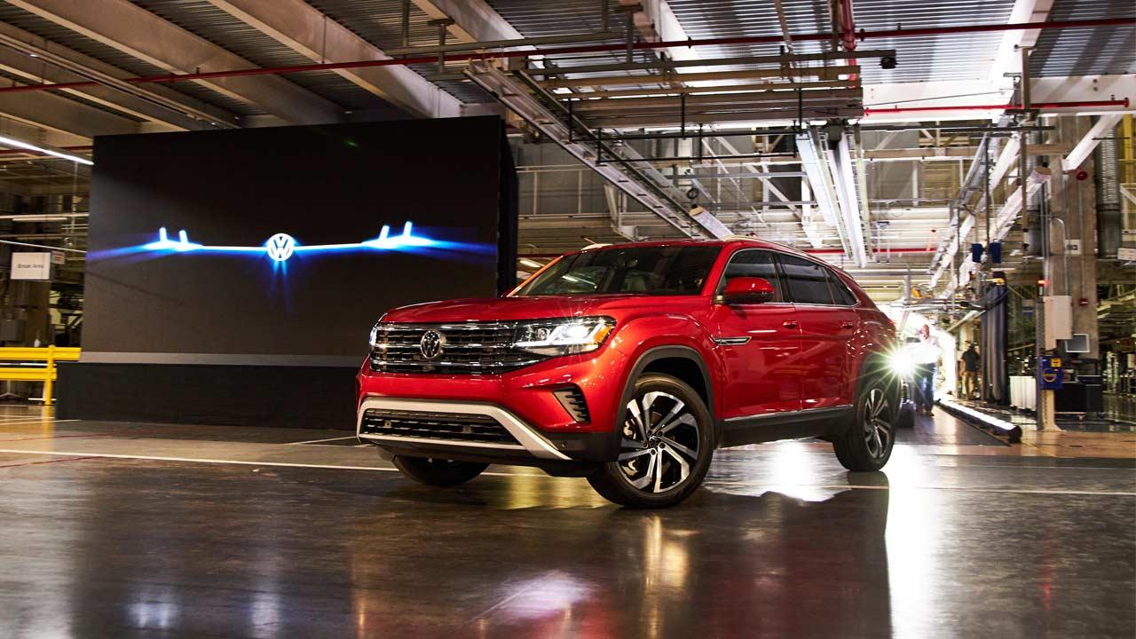 Volkswagen Atlas Gets A Cross Sport Sibling Autodevot