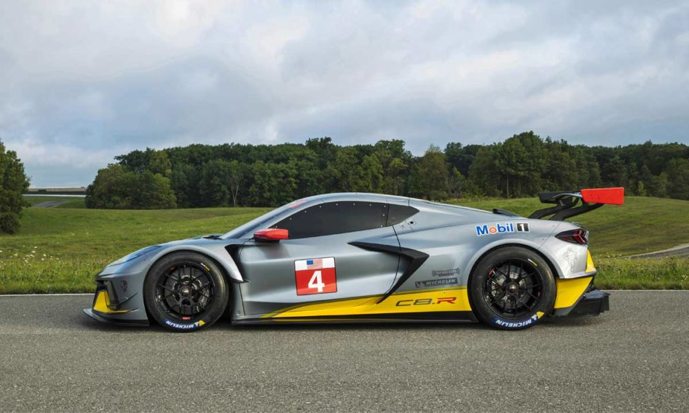 Corvette C8.R debuts as Chevy's first mid-engine GTLM race ...