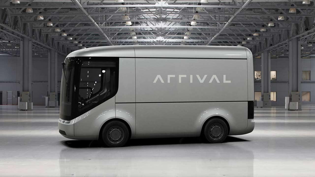 Imagen tipo de un vehículo de Arrival