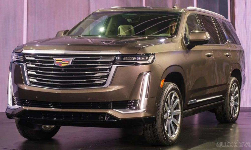 2021 Cadillac Escalade debuts with new technology, more ...