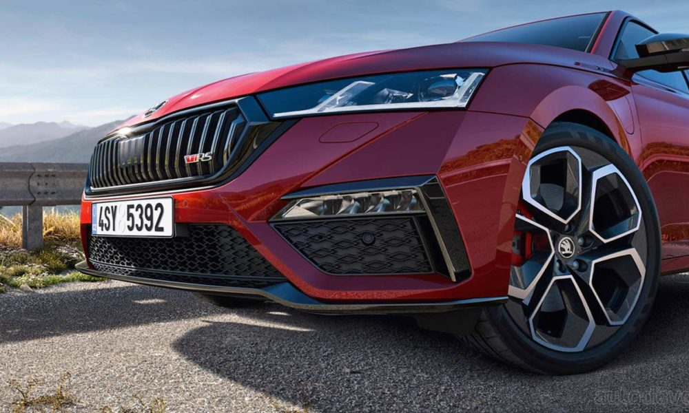 Skoda Octavia RS iV debuts with sustainable power - Autodevot