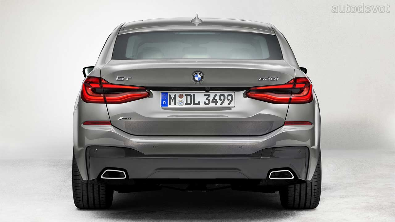 BMW 6 Series GT gets facelifted with mild-hybrid ...