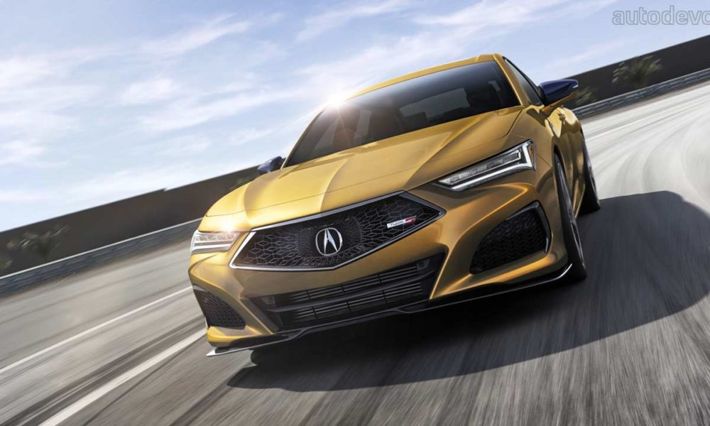 2021 acura tlx debuts with a sporty type s variant - autodevot