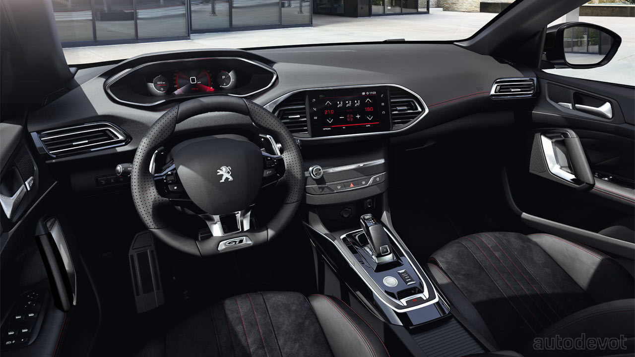 Peugeot 308 gets updated with a new digital i-Cockpit ...