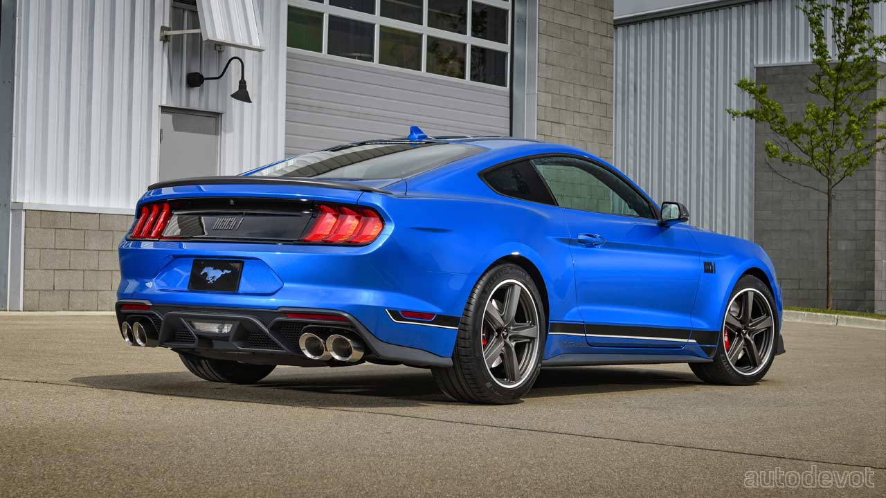 2021 Ford Mustang Mach 1 Hp