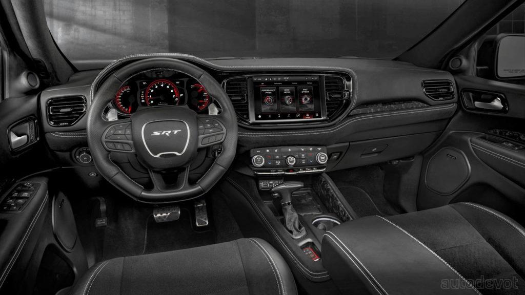 2021 dodge durango lineup debuts with a 720 hp srt hellcat