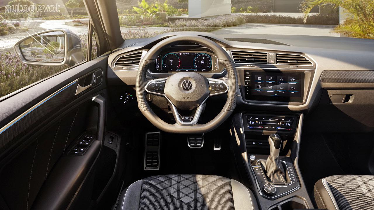 Volkswagen Tiguan facelift debuts with a 320 hp Tiguan R ...