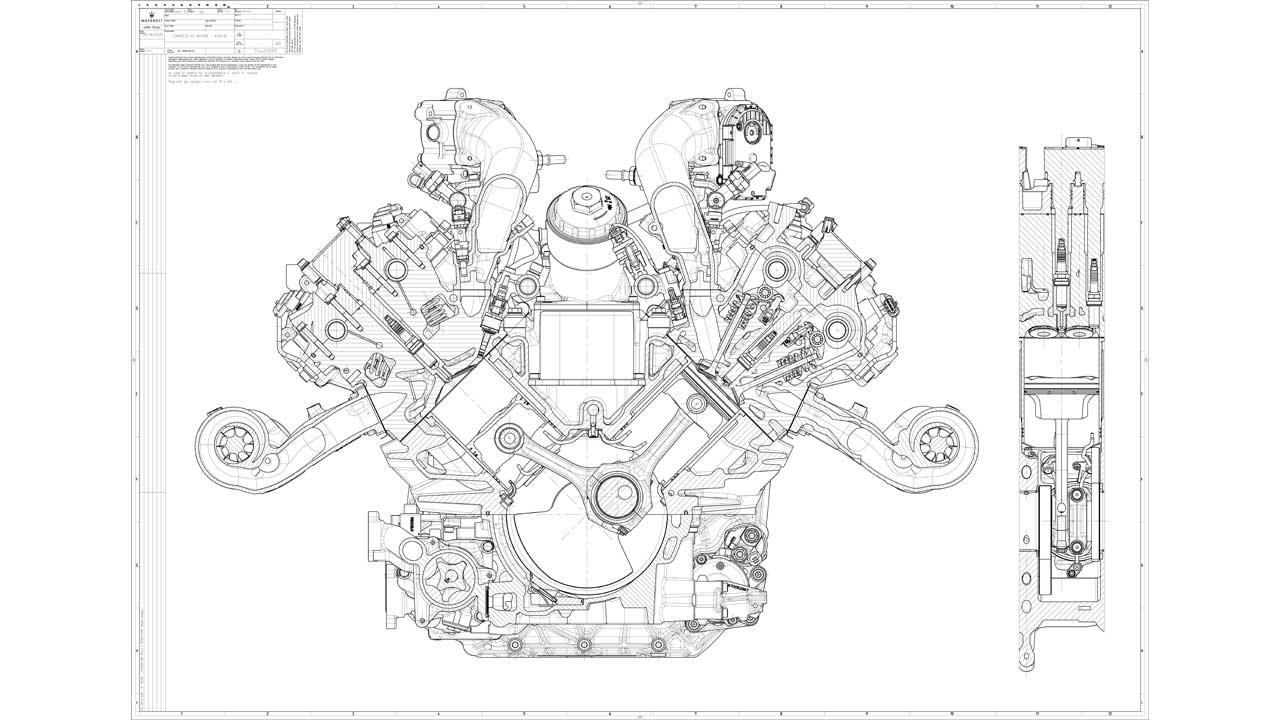 Maserati U0026 39 S New 3 0l V6  U0026 39 Nettuno U0026 39  Engine Looks Delicious