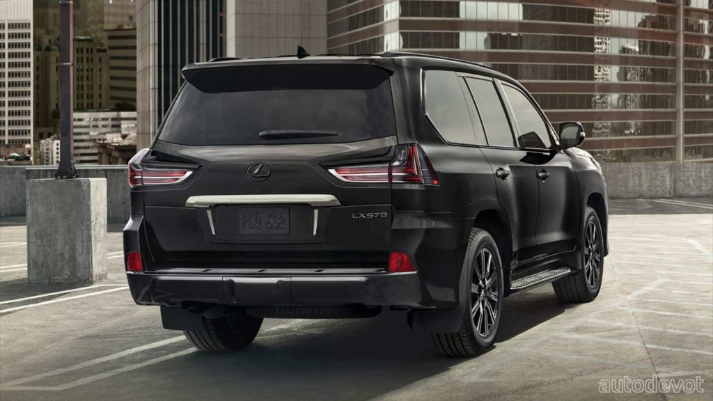 lexus lx 570 gets updated with an inspiration series