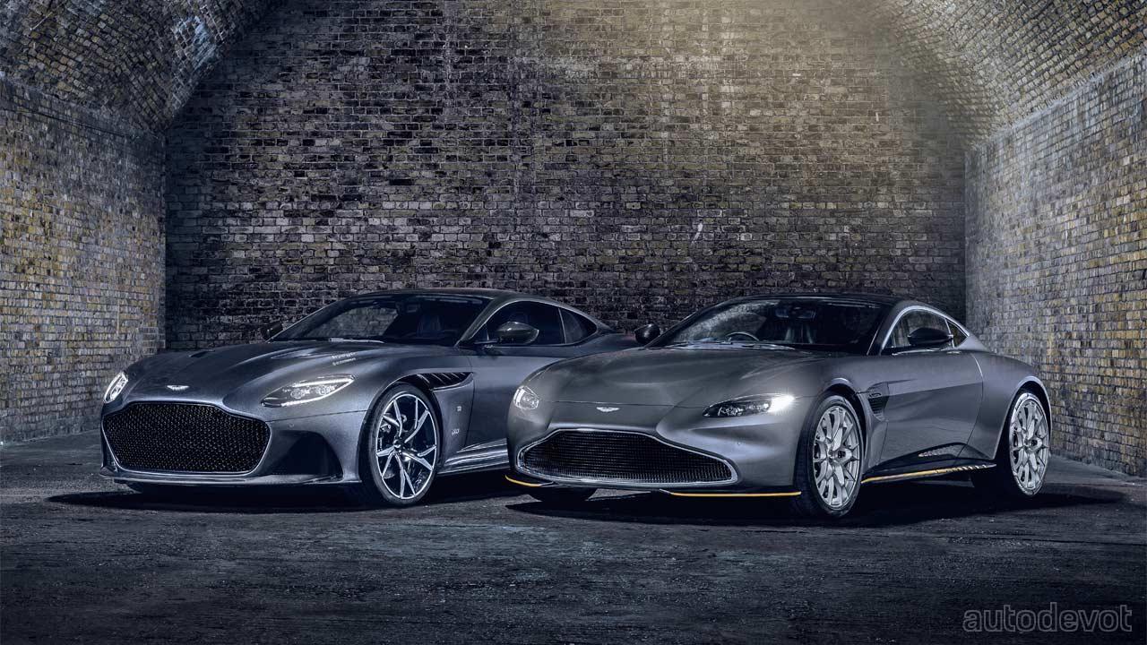 Aston Martin Celebrates Bond Movies With 007 Limited Editions Autodevot
