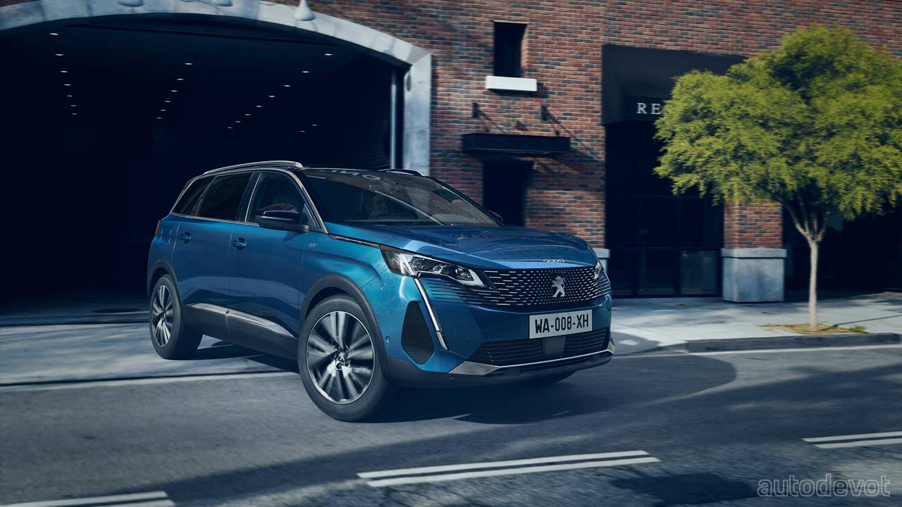Peugeot 5008 Gets Styling And Tech Updates Autodevot