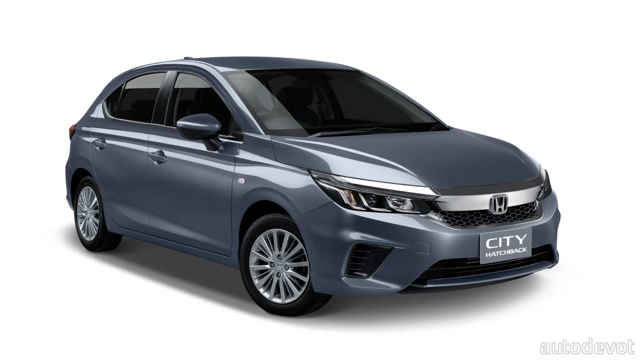 Honda City Hatchback debuts in Thailand with a hot-looking ...