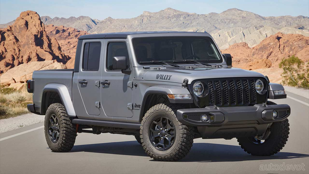 2021 jeep gladiator gets a willys edition - autodevot