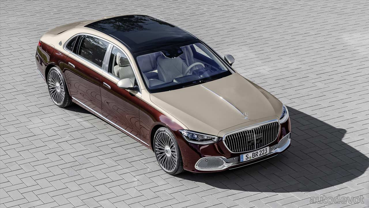 New S Class Gets Maybached With Two Tone Paint Acres Of Legroom Autodevot