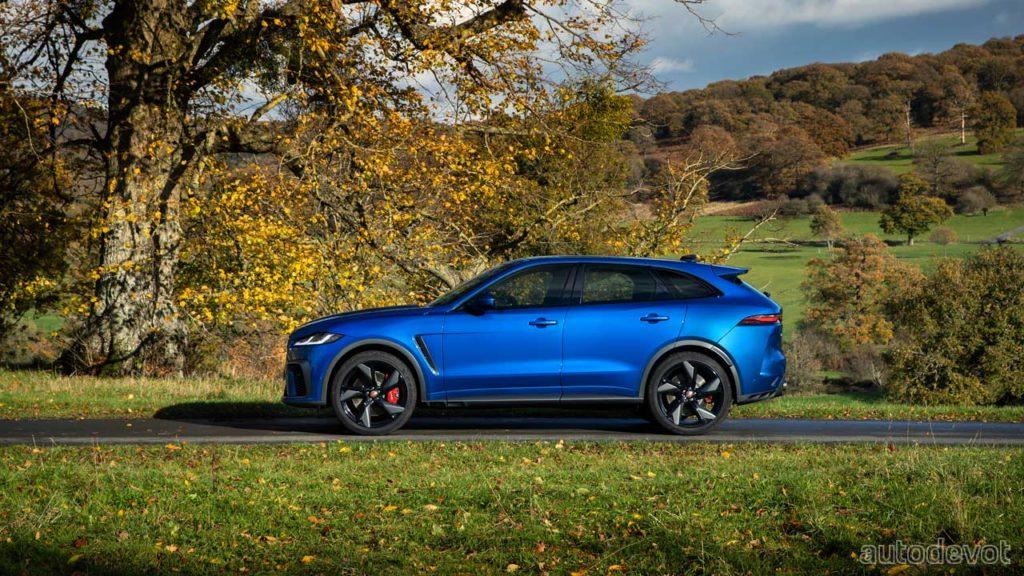 2021 Jaguar F-Pace SVR debuts with better aero & more torque - Autodevot