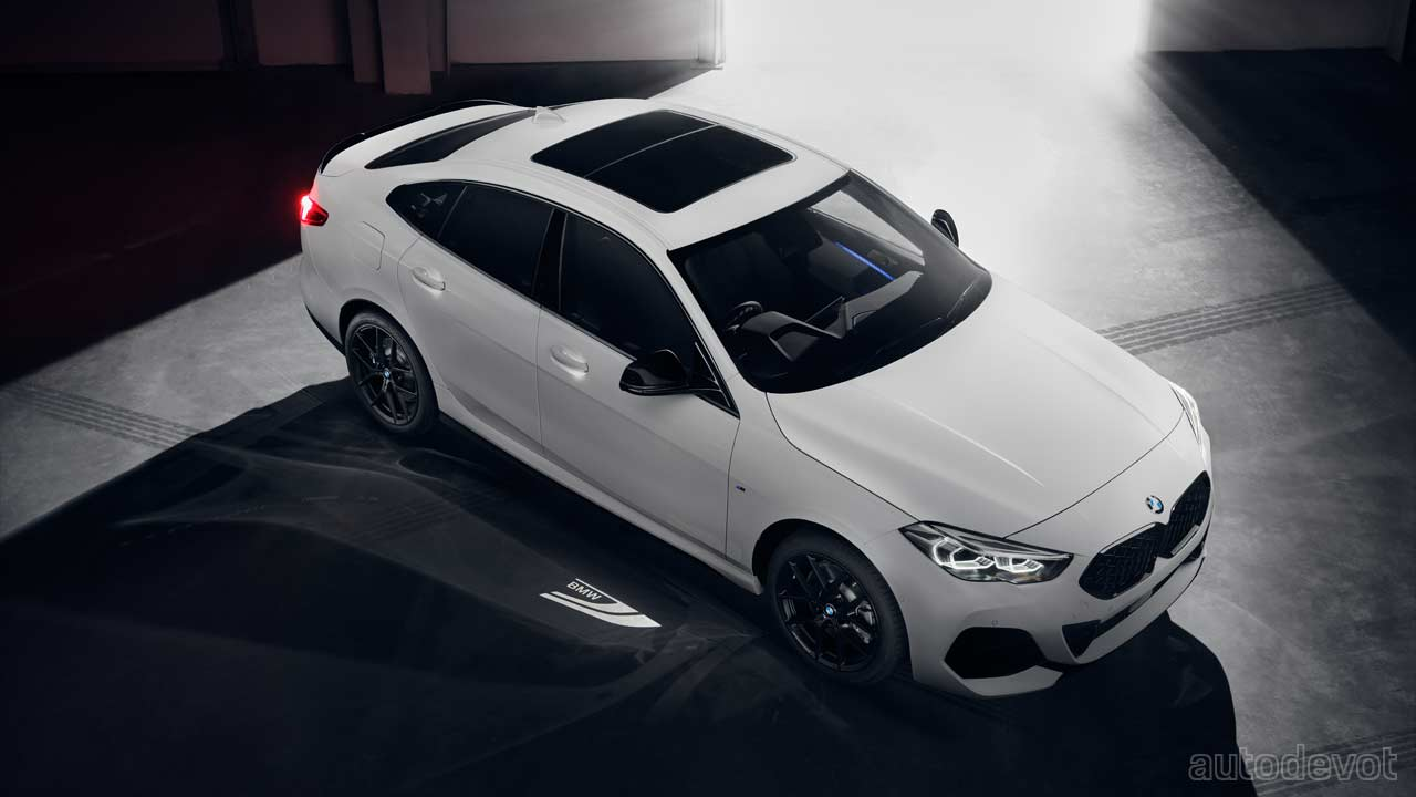 Bmw 2 Series Gran Coupe Black Shadow Edition Launched In India Autodevot