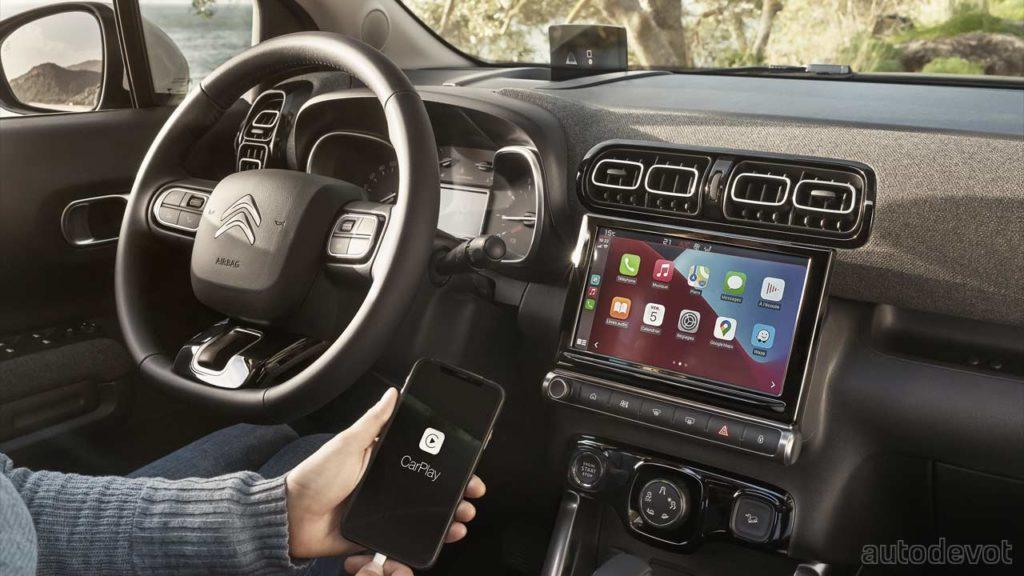 2021-Citroën-C3-Aircross-facelift_interior_infotainment_display