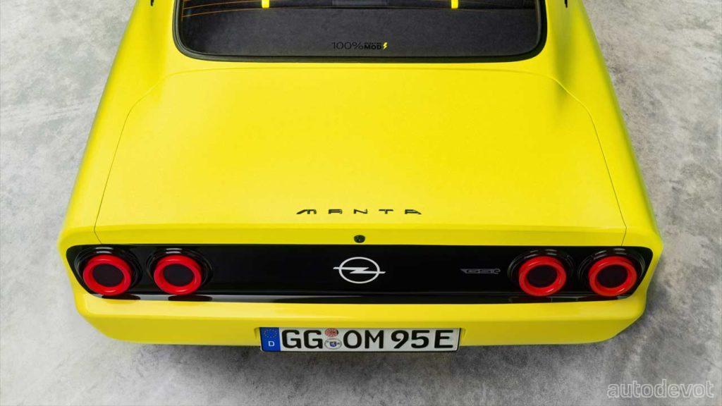 Opel-Manta-GSe-ElektroMOD_rear