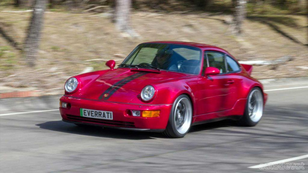 Porsche-911-964-based-Everrati-electric-coupe
