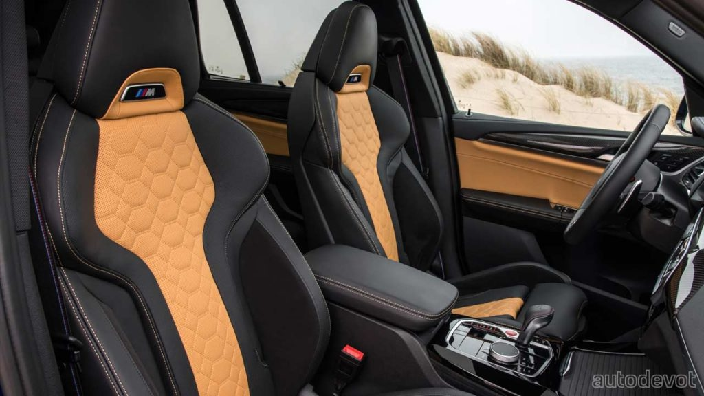 2022-BMW-X3-M-Competition_interior_front_seats